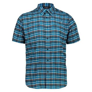 Camisa CMP hombre cuadros manga corta