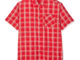 Camisa Hombre CMP Cuadros Rojos/Blancos 39T5697