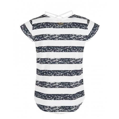 Camiseta Mujer Astore Nineu Ur Blanco-Negro| Kantxa Kirol Moda