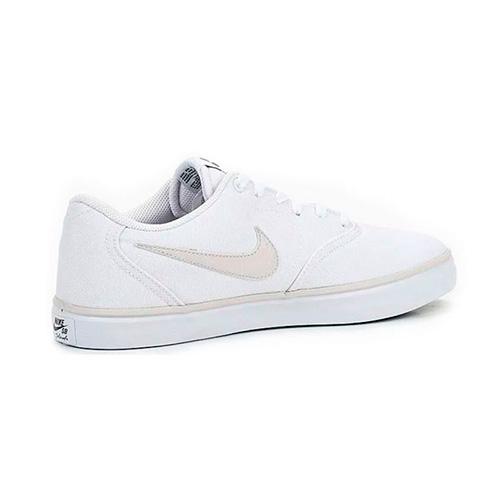 Zapatilla Nike SB Check Solar Canvas Blanca Hombre