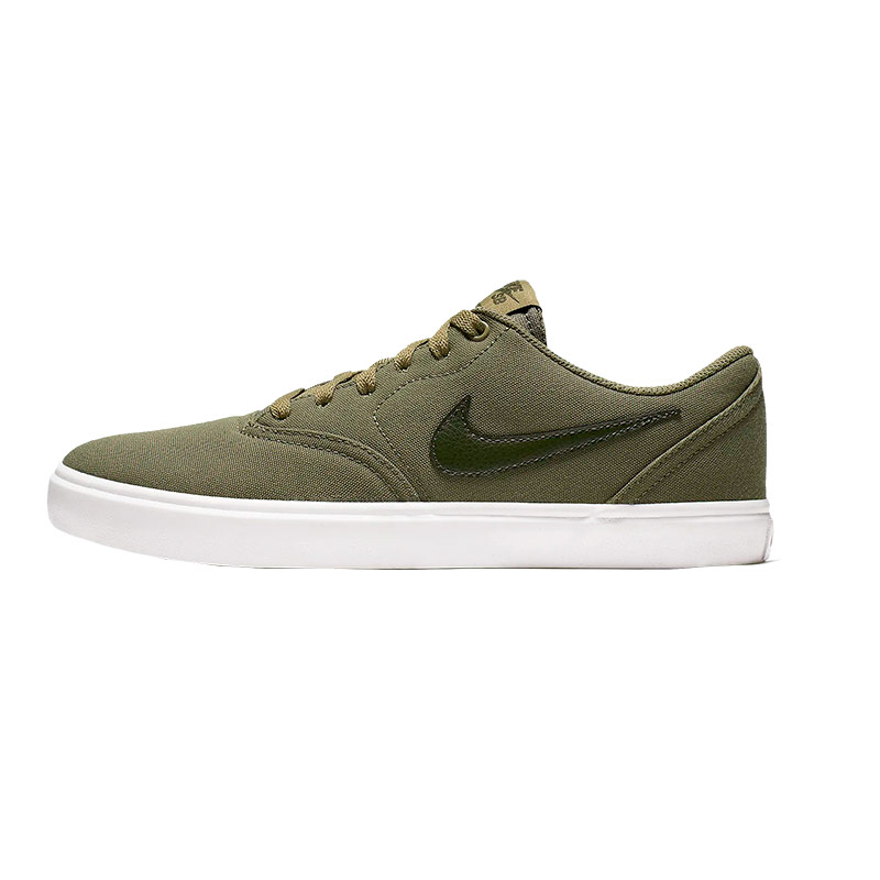 Zapatillas Nike Sb Check Solarsoft Canvas Verde