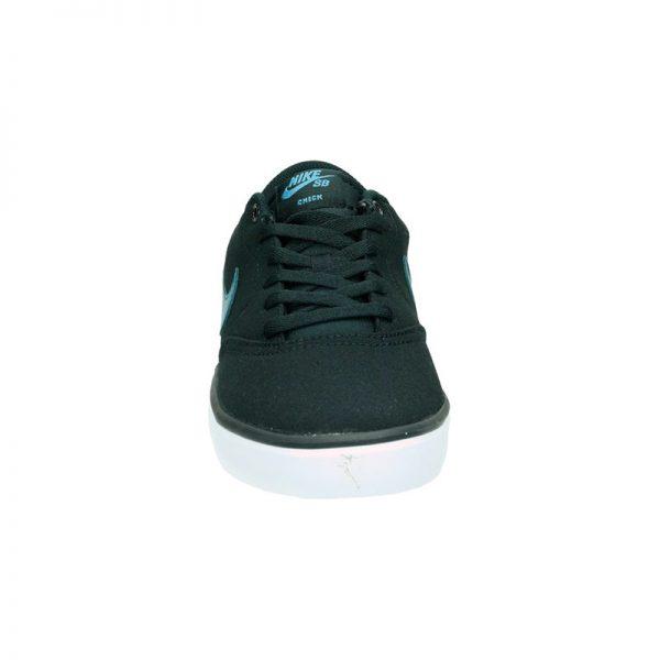 Zapatilla Hombre Nike SB Check Solarsoft Canvas Negro | Kantxa Kirol Moda